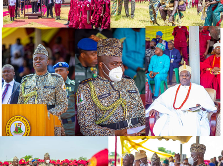 Passing Out Parade Held For Amotekun Corps In Oyo