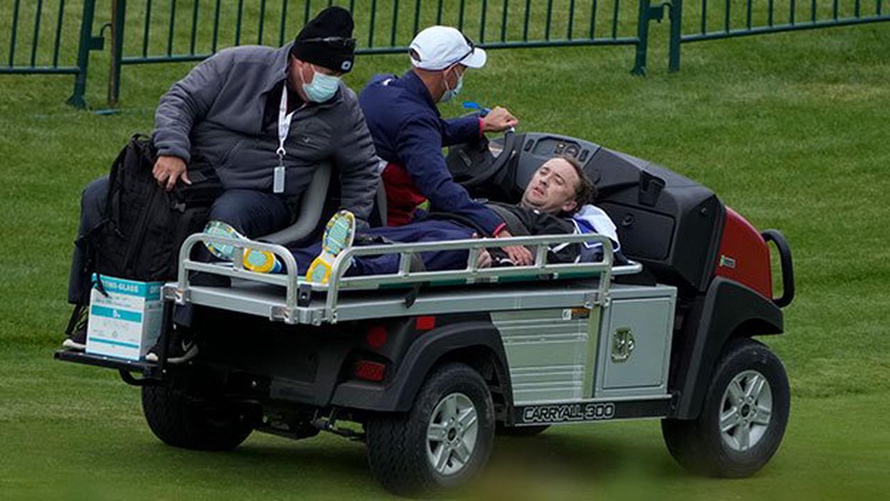"""""""Harry Potter""""-Star beim Promi-Golf zusammengebrochen"""