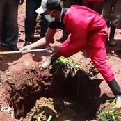 Middle Aged Man Murdered in Cold Blood and His Body Buried in Cow Dung in Murang'a County