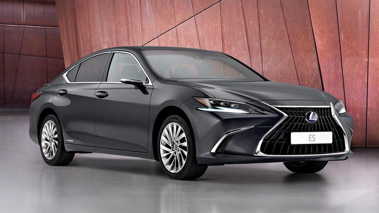 Styling and chassis updates for 2021 Lexus ES saloon