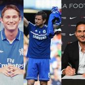 Pictures Showing Lampard's First And Last Day As A Player And Manager In Chelsea