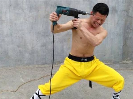 Check Out Photos Of Some Shaolin Monks Who Have Perfected The Ancient Art To A Level (Photos)