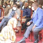 A Photo of an Elderly Woman Kneeling Before Cs Fred Matiangi Angers Kenyans