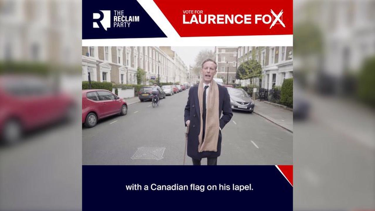 Laurence Fox shames Labour Party over Union Jack 'hatred' in new St George's Day video