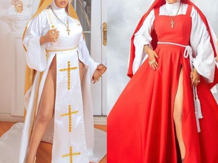 Mo Abudu, Toke Makinwa, Laura Ikeji, others Hail Tiannah's Creativity Over Controversial Nun Look