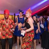 Check Out The Beautiful Photos Of This Igbo Man and His Canadian Wife During Their Marriage ceremony