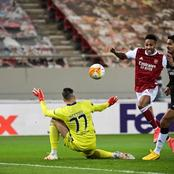 Arsenal won 3-2 against Benfica as Aubameyang scored a double in Europa league fixture