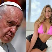 The Pretty Model Whose Photo Pope Francis' Official Page Allegedly Liked Shares New Photo
