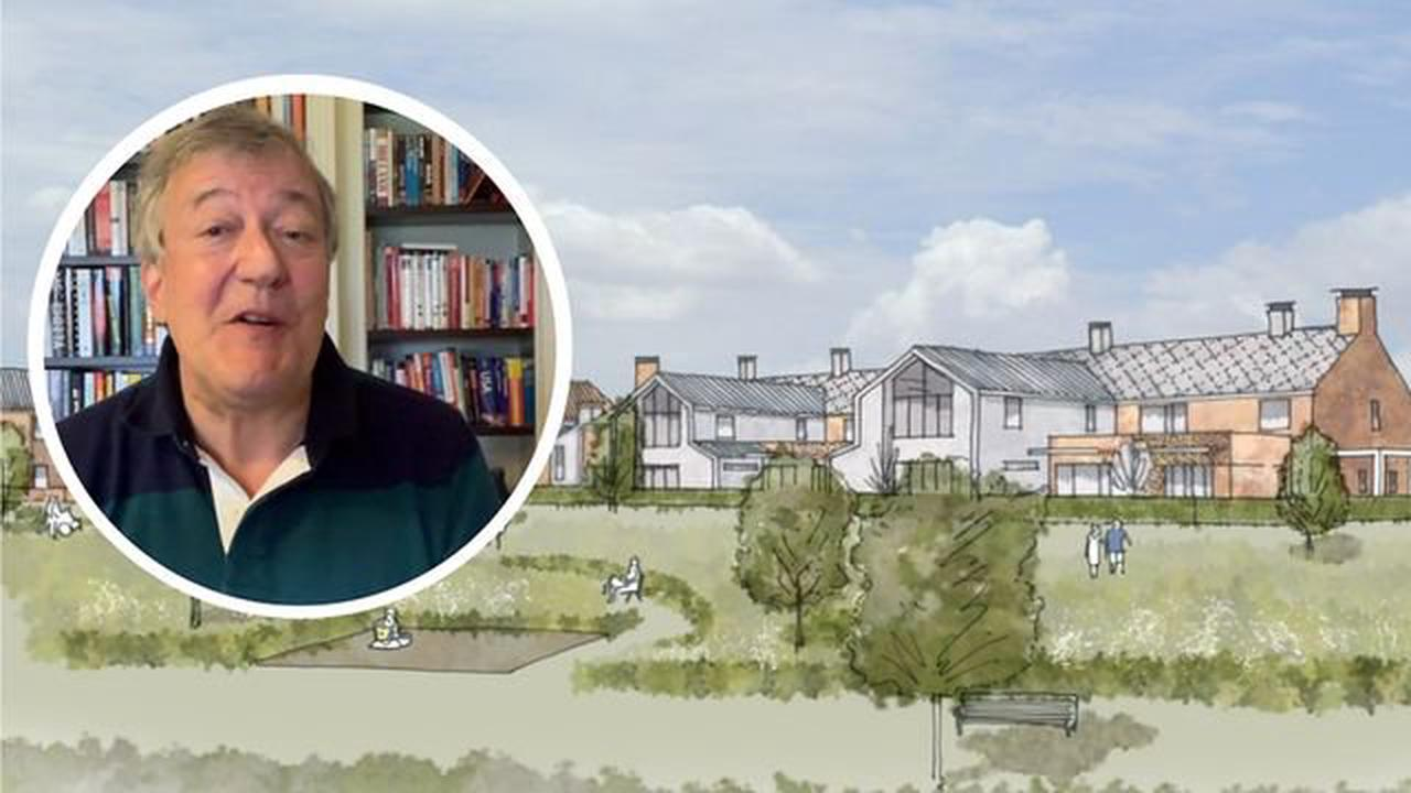 Stephen Fry video appeal sparks £1m gift to new Norfolk hospice