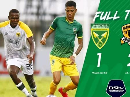 Golden Arrows lambasted 2-1: The title hopes are all but gone now.