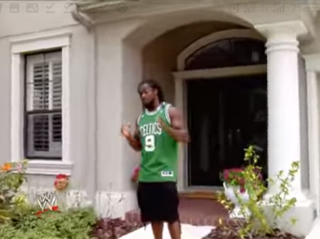 WWE superstars in Their Own Beautiful Houses.