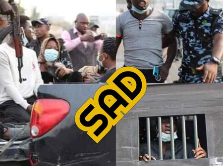 See Photos Of Some Lekki Tollgate Protesters Arrested By Police Officers