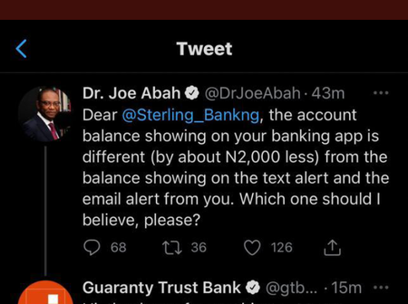 Why  GT Bank And Sterling Bank Are Trending On Twitter