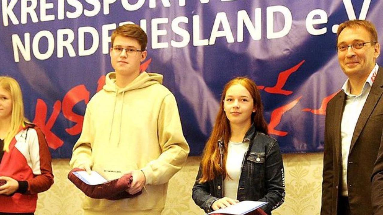 Sportlerehrung: Nordfrieslands beste Sportlerinnen und Sportler ausgezeichnet