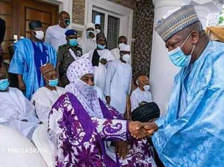8 Months After Leaving the Throne as Emir of Kano, See where Sanusi Lamido was recently seen.
