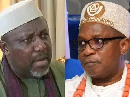 Disgraceful: See how Okorocha attacked inside a plane by an Imo State monarch