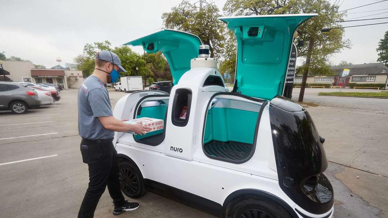 Domino's Pizza pilots driverless delivery with Nuro autonomous car in Houston