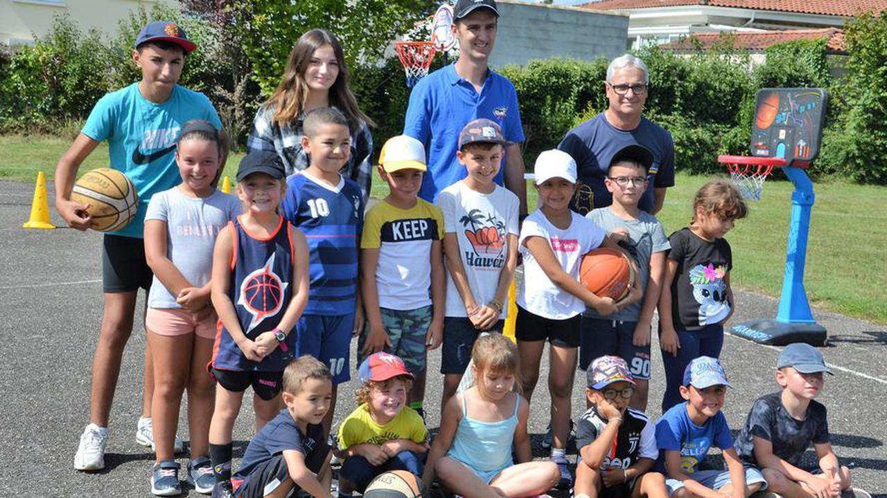Lagarrigue: Le club de basket profite du beau temps