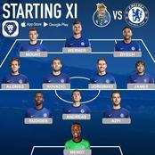 Chelsea Fierce Starting 11 That Could Easily Eliminate Porto Out Of The Champions League