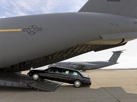 Did you know that the US President's car 'the beast' has its own personal airplane, See details