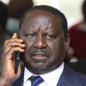 Revealed : President Uhuru's Phone Call That Calmed Raila Making Him Cancel The Kibera Rally
