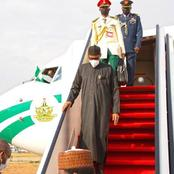 President Buhari Returns From UK Medical Trip