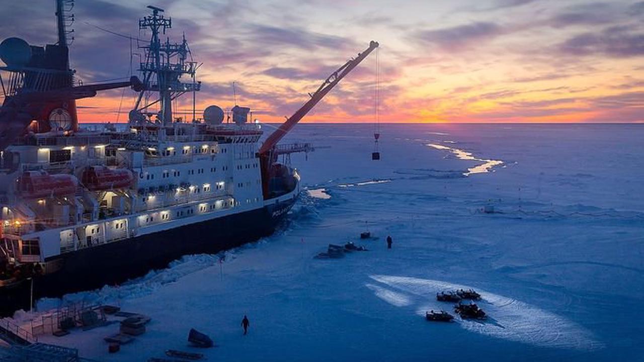 Die Arktis schmilzt der Welt davon