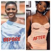 Recent Photos Of Ahuofe Patri, The Beautiful Lady From Boys Kasa Comedy Skits.