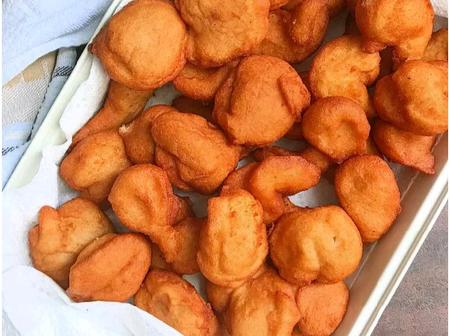 Ladies, this is how to fry akara with palm oil
