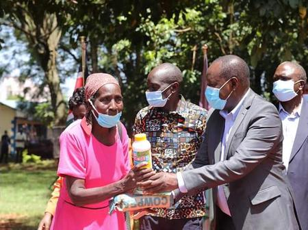 Farmers Happy as Vihiga Governor Does Boosts their Hustle