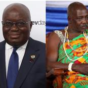 I did not disrespect Akufo-Addo - The Chief of kpone explains reason for the outburst.