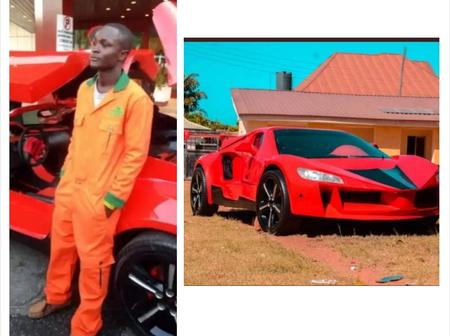 He is a 25-year-old Jos boy and the first person to manufacture a carbon fiber sports car in Nigeria
