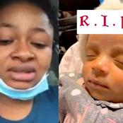 Sad: She Had Twins 3-months Ago, Now One Is Dead And She Wants Justice - See What Happened(Video)