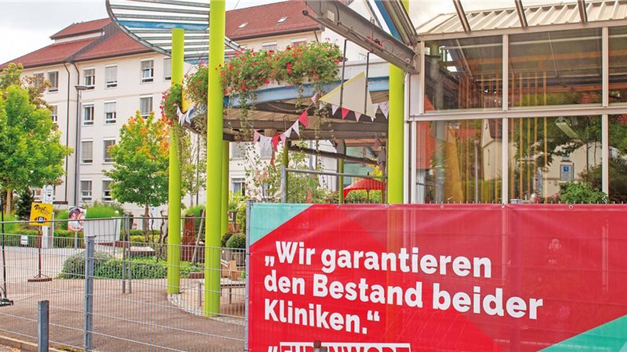 Wegen Streits um Klinikfusionen denken Geislinger an Landkreis-Wechsel