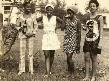 See beautiful pictures of Nigerians ladies and how they dressed in the 20th century
