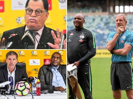 Stuart Baxter linked with Bafana Job to replace Molefi Ntseki