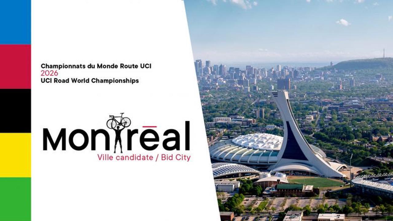 Route - Montréal candidate pour organiser les Mondiaux en 2026