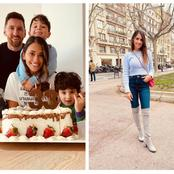 Messi's Wife Turned 33, See How Her Husband & 3 Kids Celebrated Her (Photos)