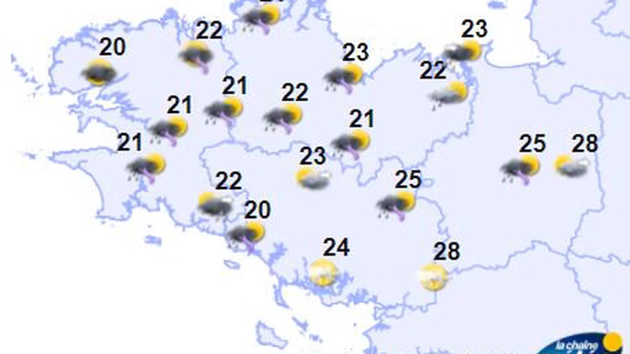 Météo en Bretagne: un ciel nuageux et un temps humide ce jeudi