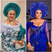 Between Nollywood Stars Sola Sobowale And Mercy Aigbe, Who Is The Queen Of Asoebi?