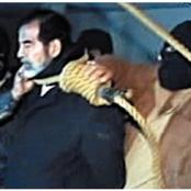 See Saddam Hussein's Harsh and Mocking Last Words Before He Was Hanged To Painful Death