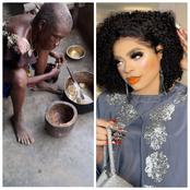 Bobrisky finally pays to bring this elderly woman and her son to Lagos to end their sufferings