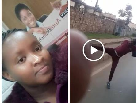Police Officers Take Action After a Bank Lady Was Thrown Out of a Speeding Vehicle, Matatu Detained