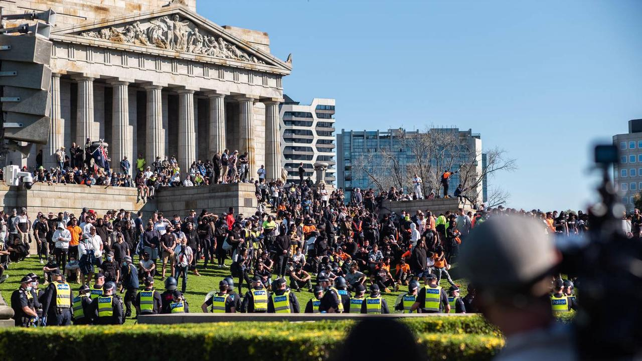 Melbourne Protestor Tests Positive For Covid-19 And Sparks Fears Of Super Spreader Event