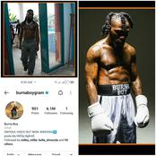 Burna Boy follows only one person on his Instagram account check out the person