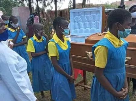 Class 8 Candidate Who Was Allegedly Killed By Dark Forces Is Laid To Rest