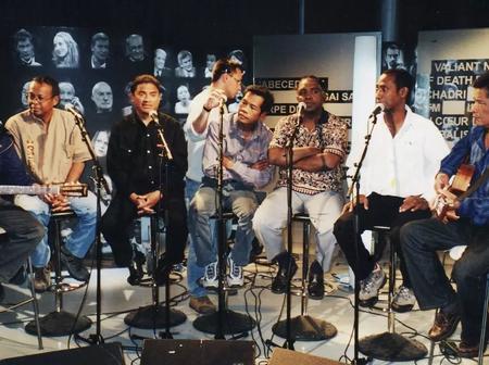 Oladad is hip hop folk -fusion group from Madagascar