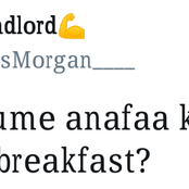 """Mwanaume ale nini for breakfast""- see people's reactions to this tweet"