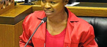 Naledi Chirwa is Not a South African but She is in Parliament