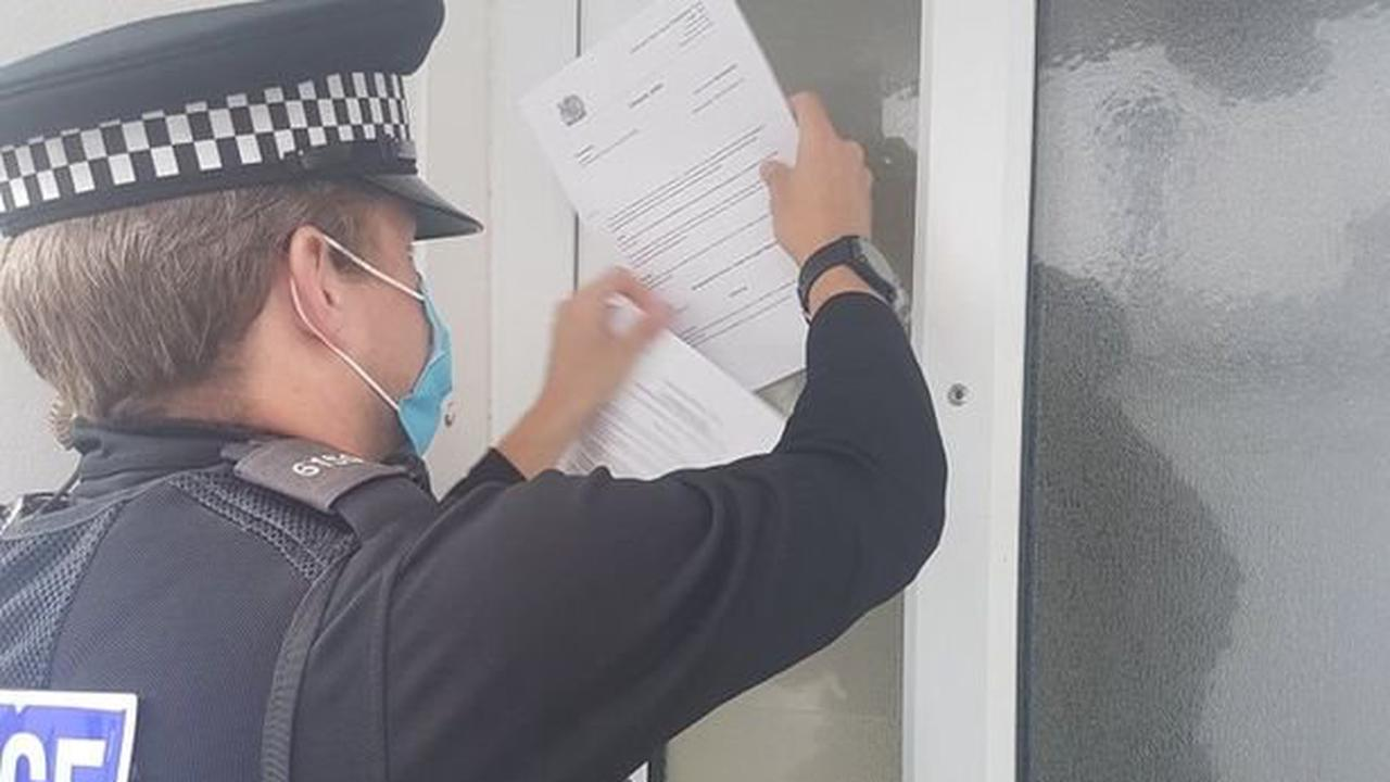 Plymouth flat closed and tenant ordered to leave after raid